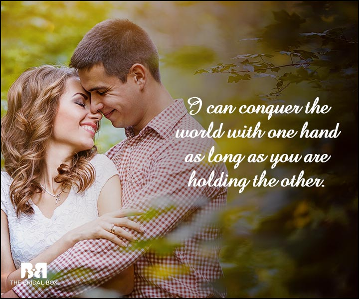 Engagement Quotes - You Are Holding My Hand