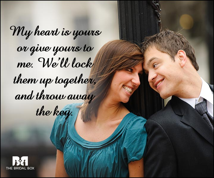 Engagement Quotes - My Heart