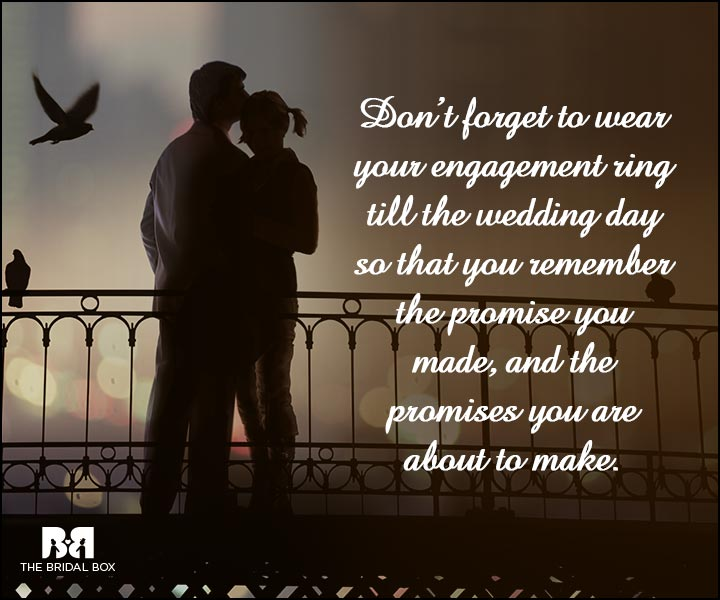 Engagement Quotes - Don't Forget