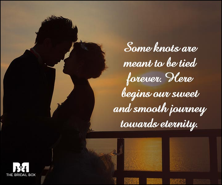 Engagement Quotes - Some Knots