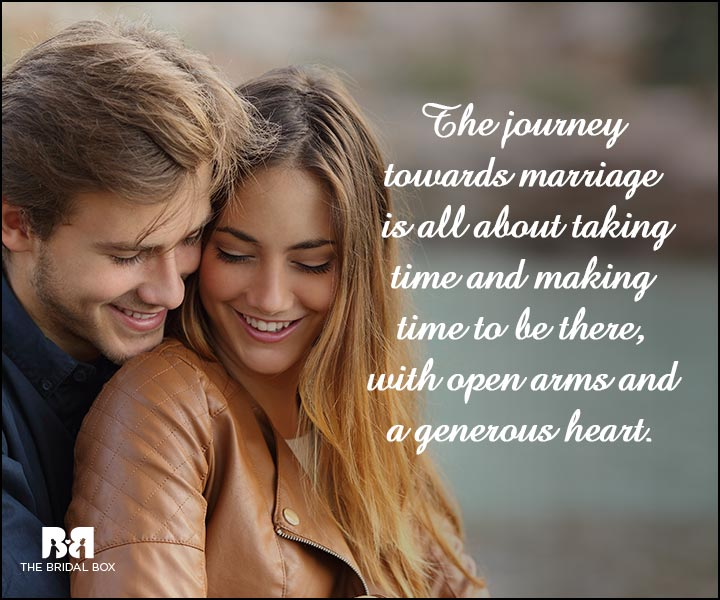 Engagement Quotes - Time