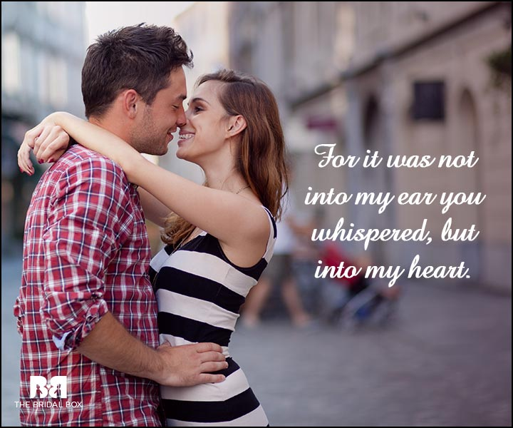 Engagement Quotes - Into My Heart