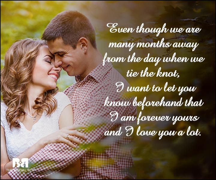 Engagement Quotes - I Want To Let You Know