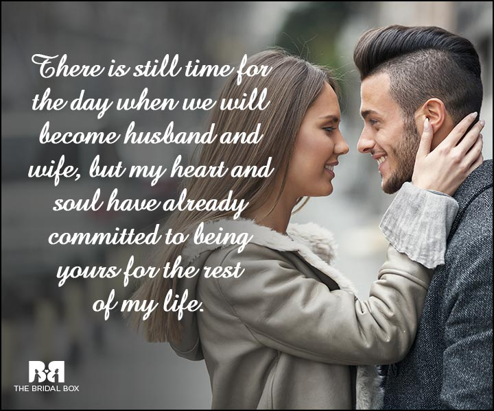 Engagement Quotes - There's Still Time