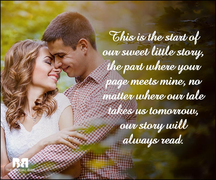 Engagement Quotes - Our Sweet Little Story