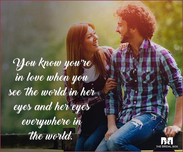 In Love Status - The World In Her Eyes