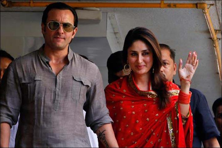 The Saif Kareena Kapoor Wedding - Saif And Kareena At The Dawat-e-Walima