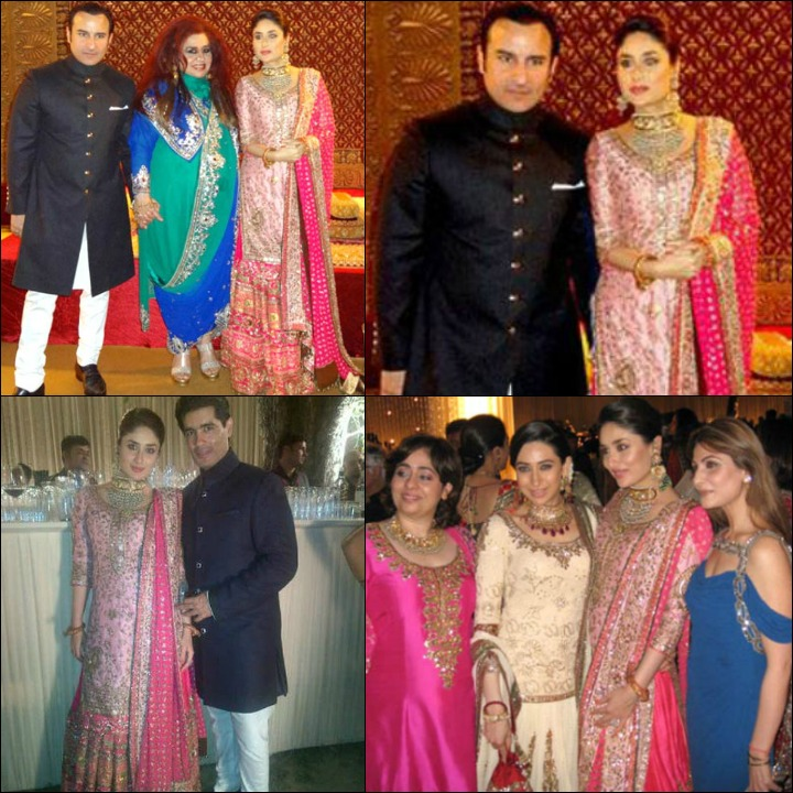 Saif And Kareena At Their Post Wedding Party With Friends And Family