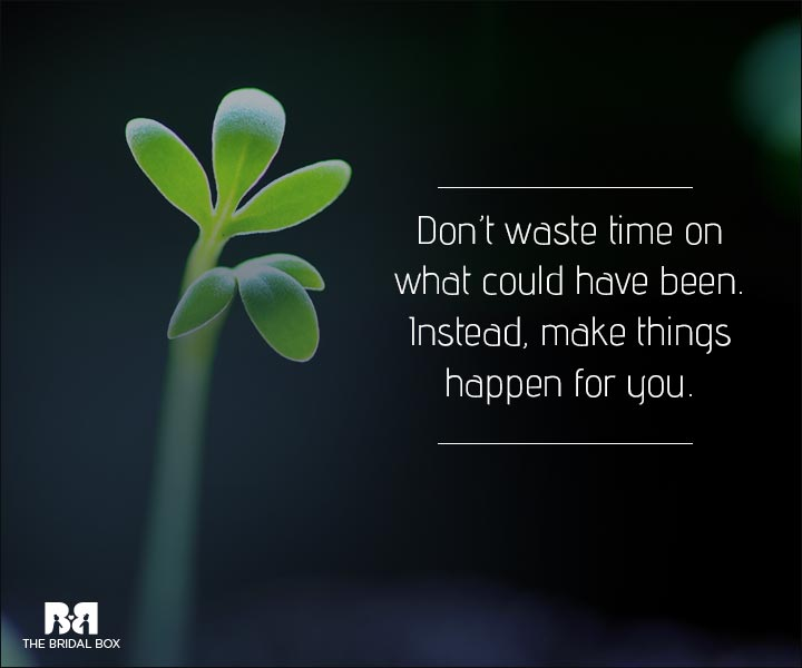 Love Is Waste Of Time Quotes - Make It Happen