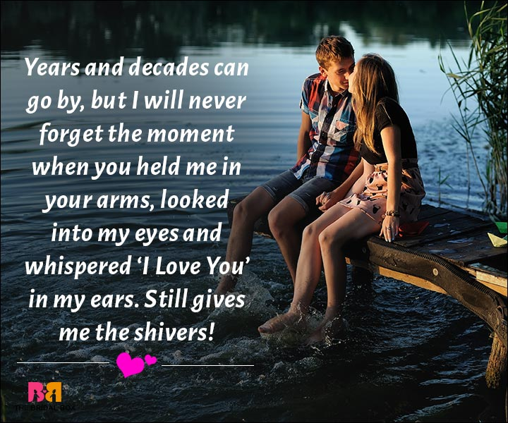 Love Messages For Husband - I Won't Forget