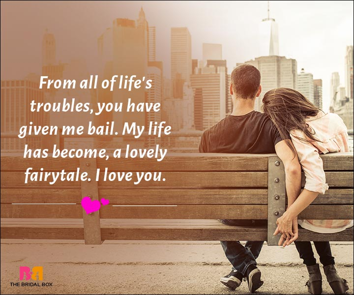 Love Messages For Husband - My Life Is A Lovely Fairytale