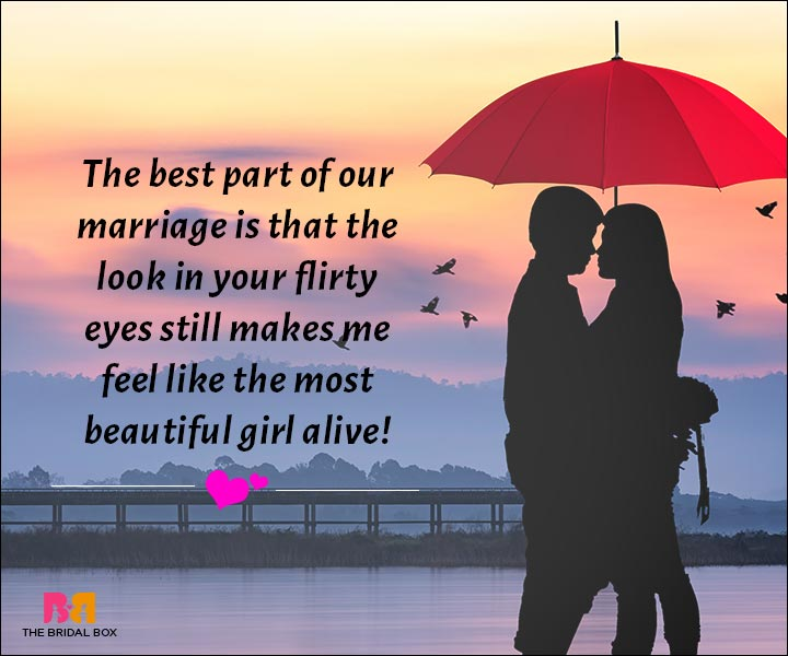 Love Messages For Husband - That Look In Your Eyes