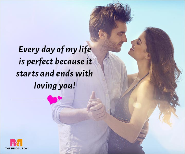 Love Messages For Husband - It Starts And Ends With Loving You