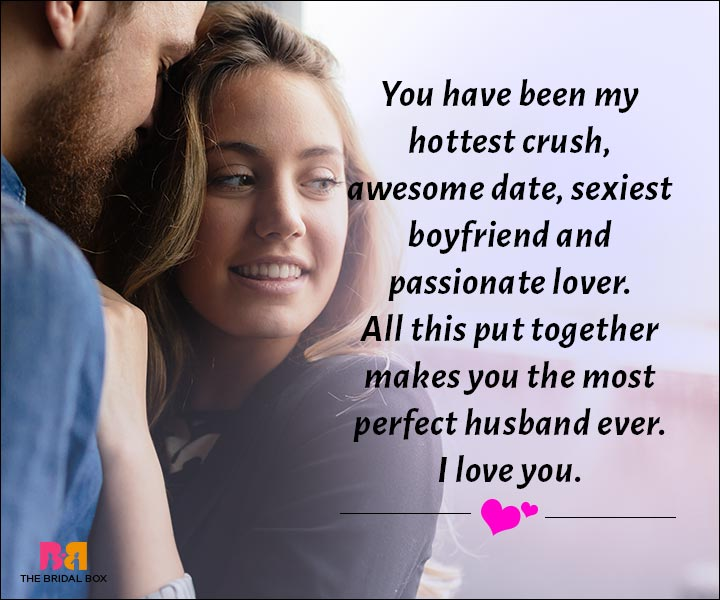 Love Messages For Husband - The Most Perfect Husband