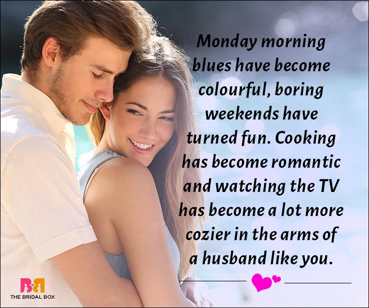 Love Messages For Husband - A Husband Like You