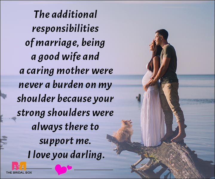 Love Messages For Husband - You Were Always There