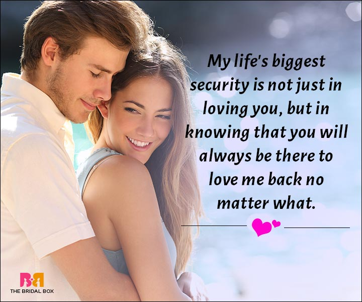 Love Messages For Husband - My Life's Biggest Security
