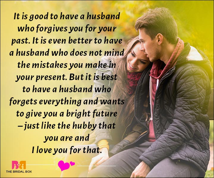 Love Messages For Husband - The Best Husband Forgets Everything
