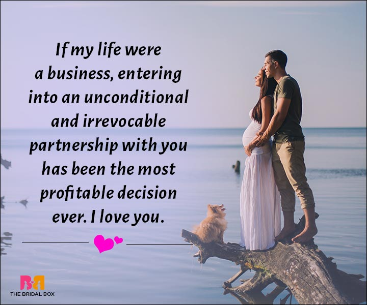 Love Messages For Husband - The Most Profitable Decision