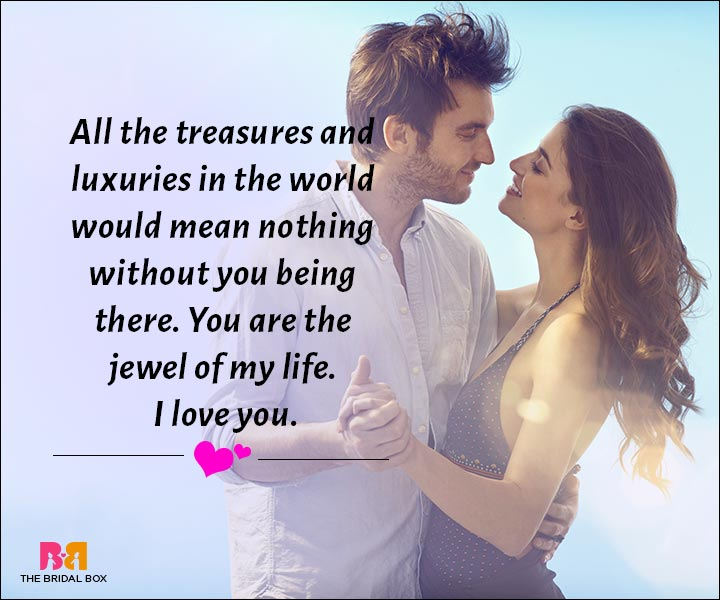 Love Messages For Husband - You Are The Jewel Of My Life