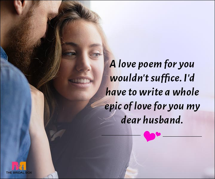 Love Messages For Husband - The Epic Tale Of Us