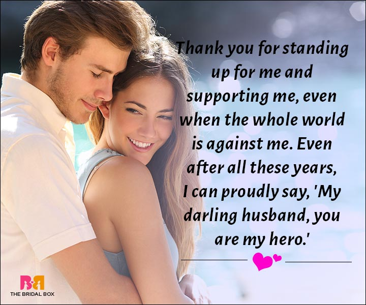 Love Messages For Husband - You Are My Hero, My Husband