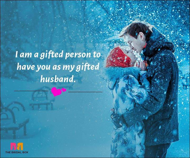 Love Messages For Husband - I Am Gifted To Have You As My Husband