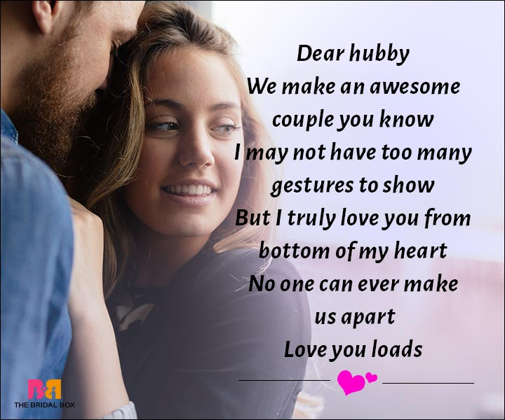 Love Messages For Husband - Dear Hubby