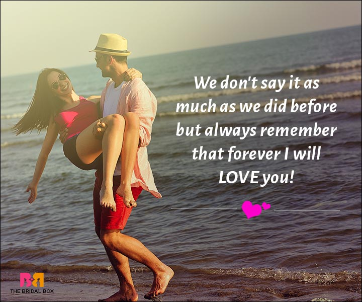 Love Messages For Husband - Forever I Will Love You