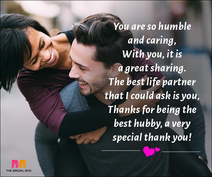 Love Messages For Husband - You're The Best Life Partner