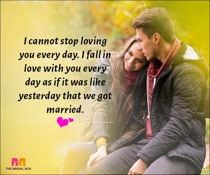 Love Messages For Husband - I Cannot Stop Loving You