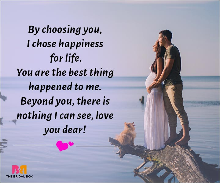 Love Messages For Husband - There Is Nothing I See Beyond You