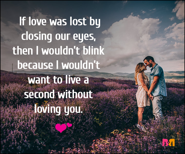 Love Notes - Don't Even Blink