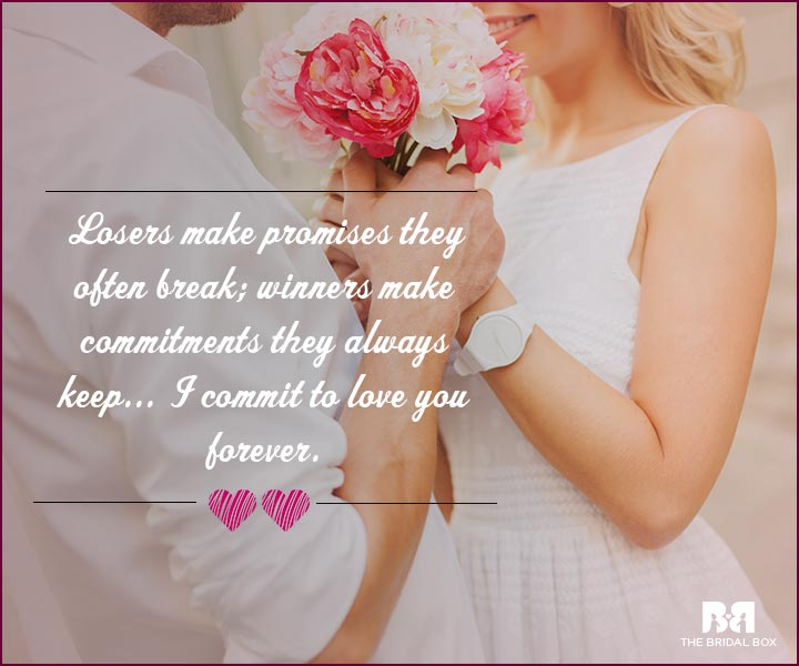 Love Proposal Quotes - Coin Toss