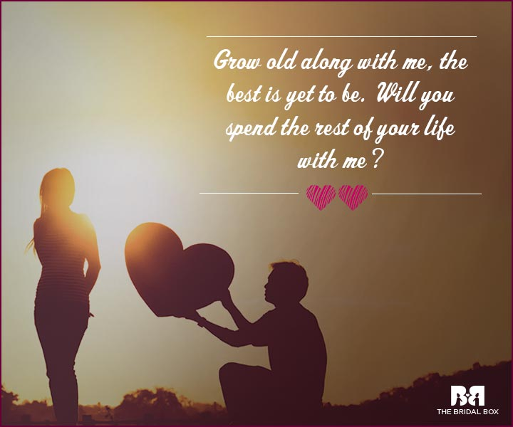 35 Love Proposal Quotes For The Perfect Start To A Relationship