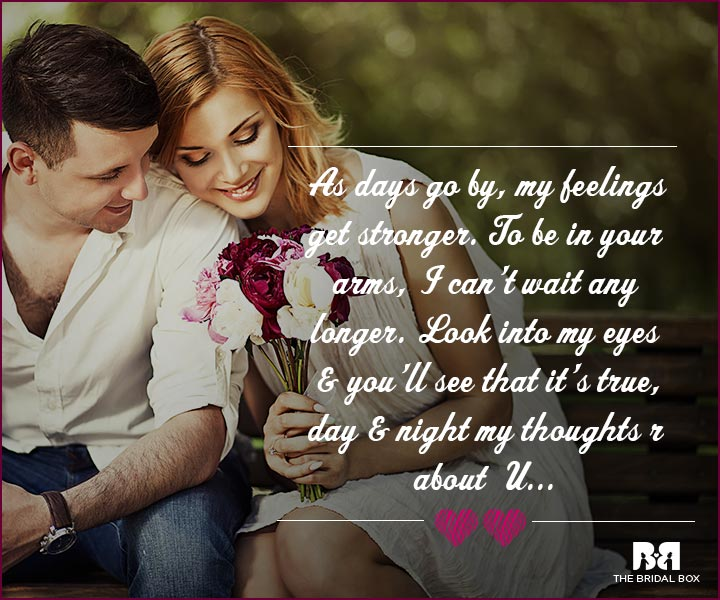 Love Proposal Quotes - Stronger