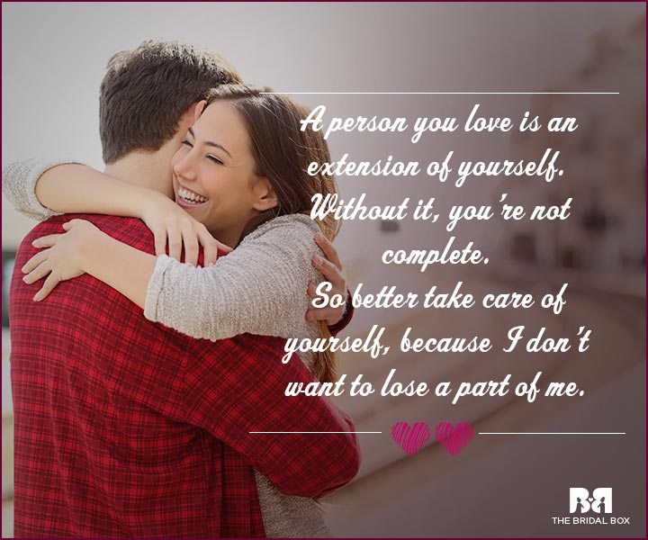 Love Proposal Quotes - An Extension Of Me