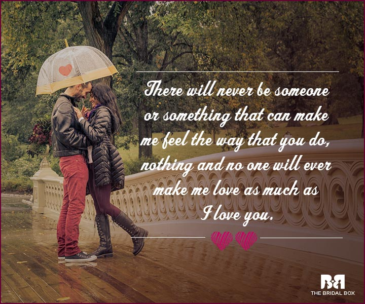 Love Proposal Quotes - No One