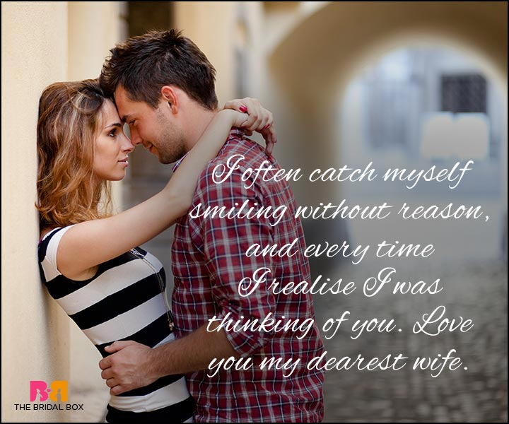 Love Quotes For Wife - Love You My Dearest Wife
