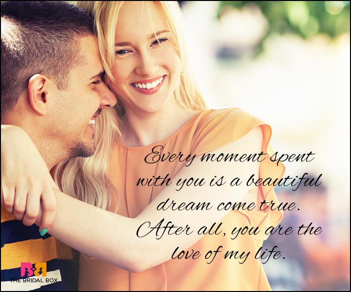 Love Quotes For Wife - A Beautiful Dream