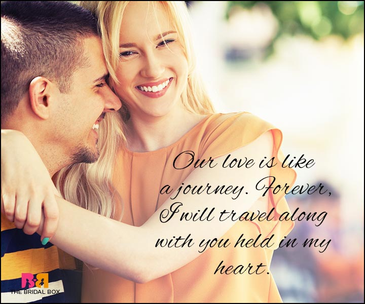 Love Quotes For Wife - A Journey