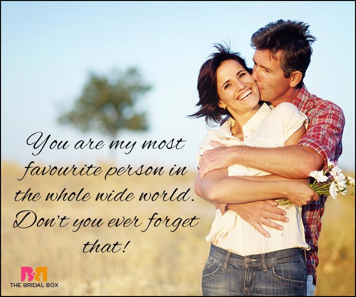 Love Quotes For Wife - My Most Favourite Person