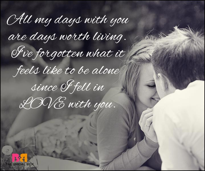 Love Quotes For Wife - Since I Fell In Love With You