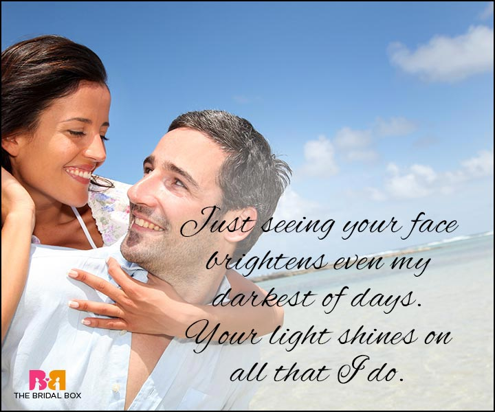 Love Quotes For Wife - Your Light Shines