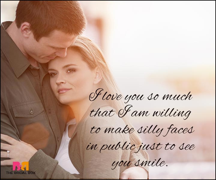 Love Quotes For Wife - Just To See You Smile
