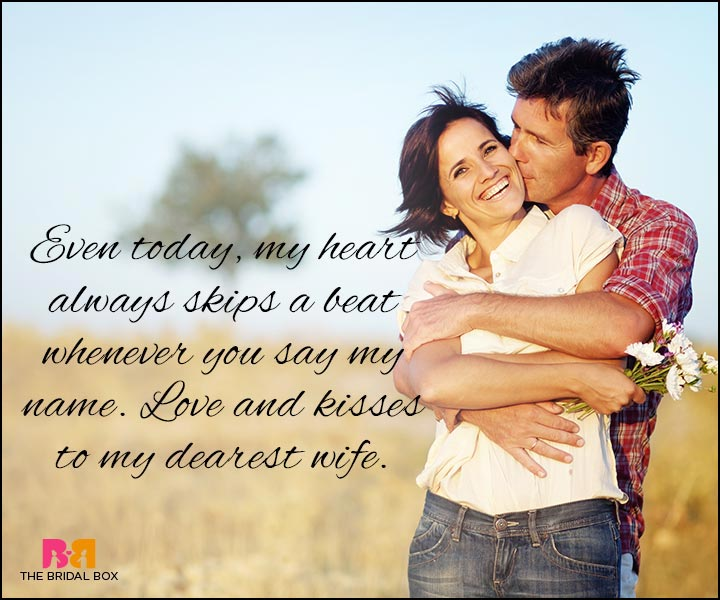 Love Quotes For Wife - Love And Kisses