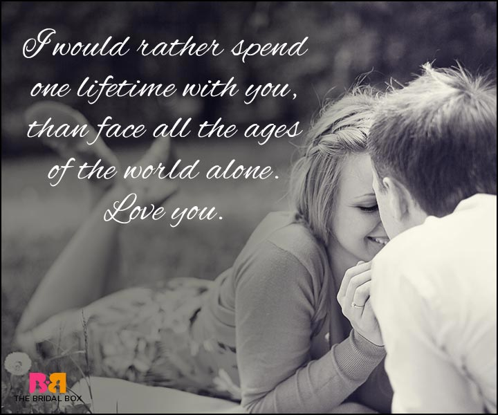 Love Quotes For Wife - One Perfect Lifetime