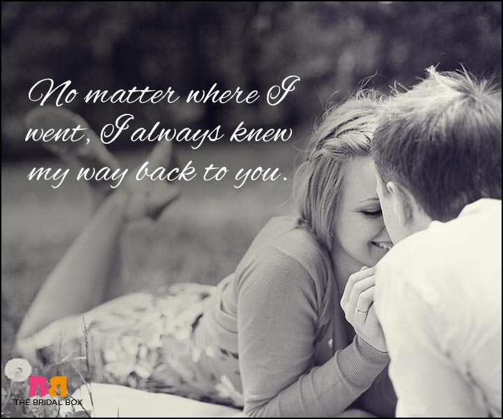 Love Quotes For Wife - No Matter Where