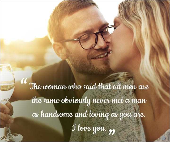 Mushy Love SMS For Husband - You're The Difference