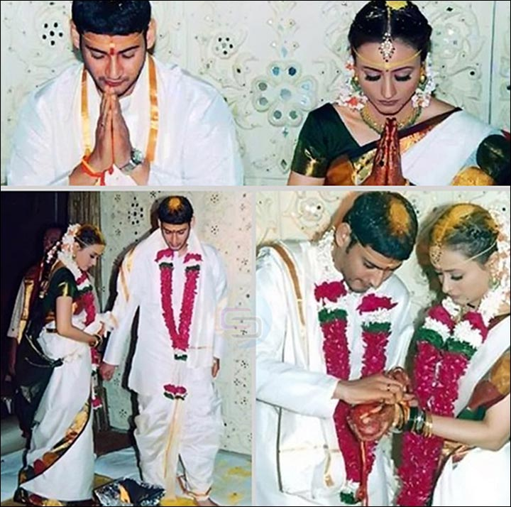 Mahesh Babu Marriage With Namrata Shirodkar At Their Wedding